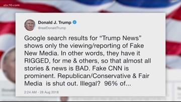 Connect the Dots: Google vs Trump?