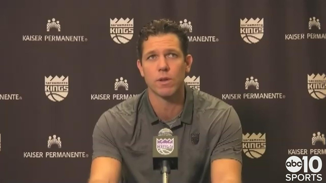 Luke Walton on remaining Kings head coach following a 31-41 season in Sacramento