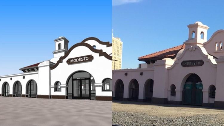 100119 modesto train depot