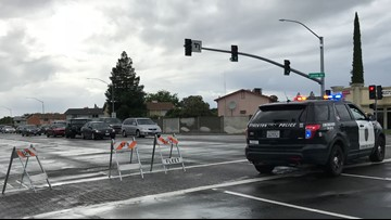 Flooding shuts down portion of Hammer Lane in Stockton | Update