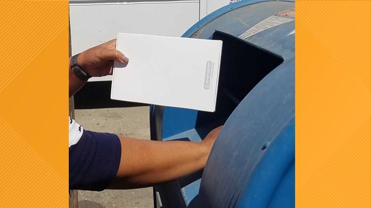 Mail in DNA test