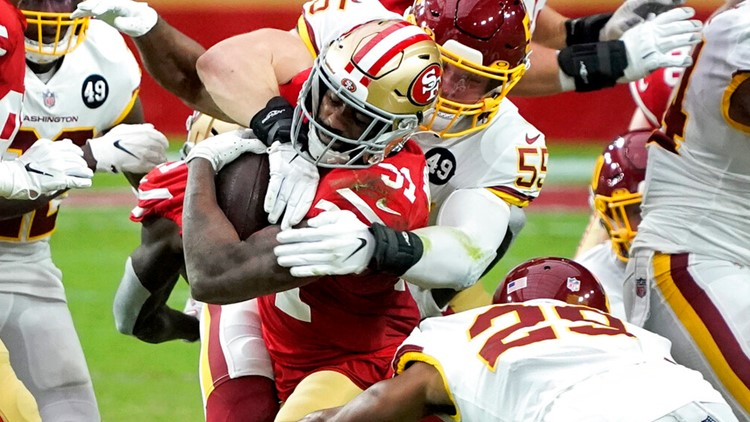 Washington leads NFC East after gritty 23-15 win over 49ers