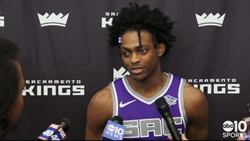Media Day: Kings looking to De'Aaron Fox to lead up-tempo