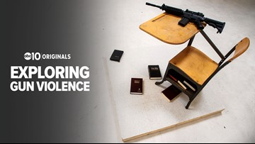 Sacramento art exhibit explores the effects of guns in the United States