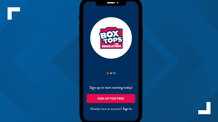 scan box top smartphone
