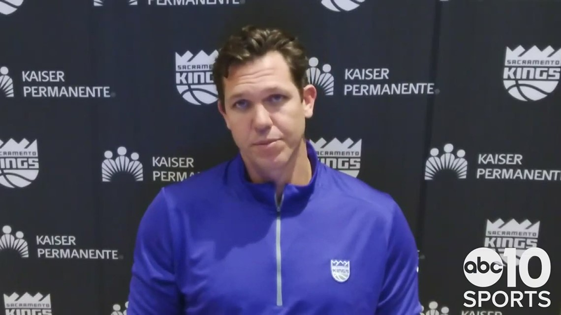 Kings coach Luke Walton sees improvements in loss to Jazz, as Sacramento drops 6th straight game