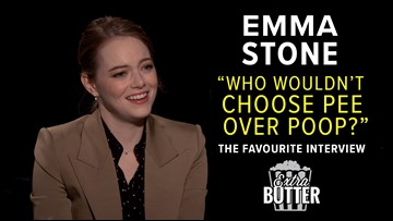 Oscar nominee Emma Stone spills the dirty details about 'The Favourite' | Extra Butter interview