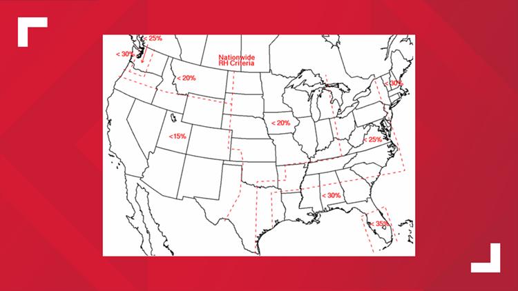 National Relative Humidity Criteria