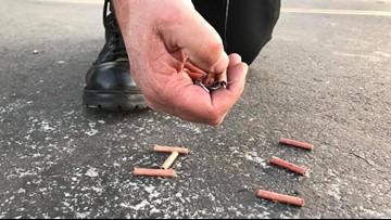 Sacramento Sheriff deputies confiscate illegal fireworks near Carmichael school