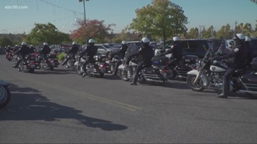 Law enforcement from across California pay respects to Deputy Brian Ishmael