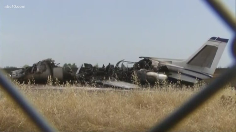 Onlookers shocked, but happy no one was hurt in Oroville Airport plane crash