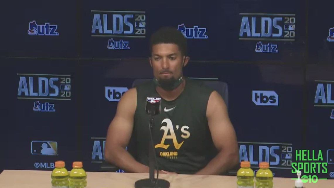 Marcus Semien on A's season ending in ALDS, his unknown future in Oakland