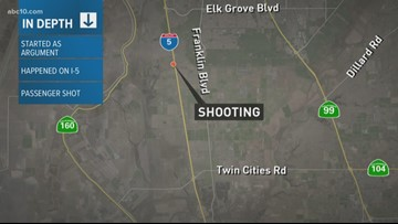 Road rage incident in South Sacramento leads to woman being shot