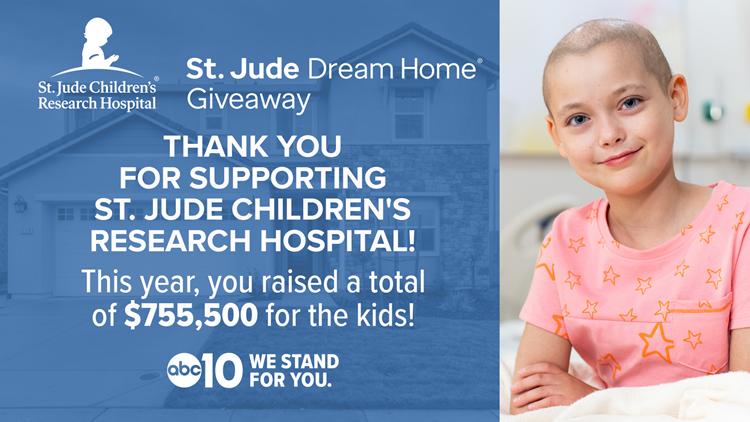 Sacramento St. Jude Dream Home Giveaway