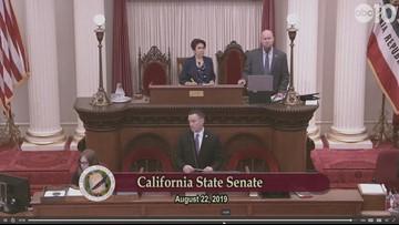 State Sen. Richard Pan addresses legislative floor about assault by anti-vaxxer