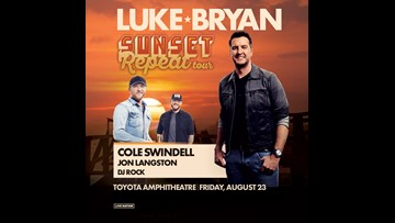 Enter to win a pair of tickets to see Luke Bryan!
