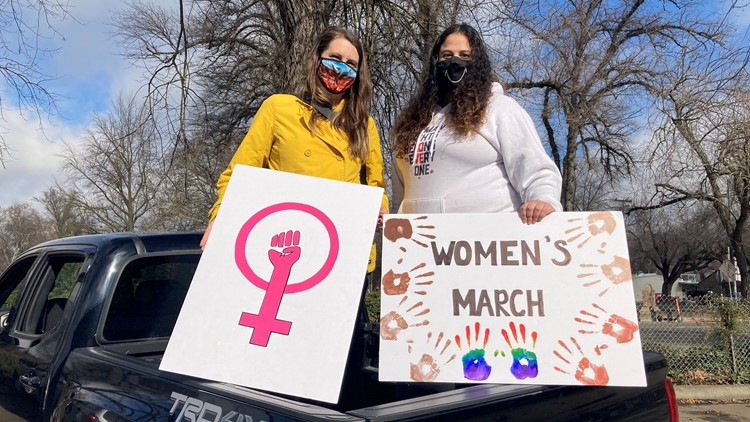 'This year, everything just paid off' | Women's March Sacramento continues after Trump administration