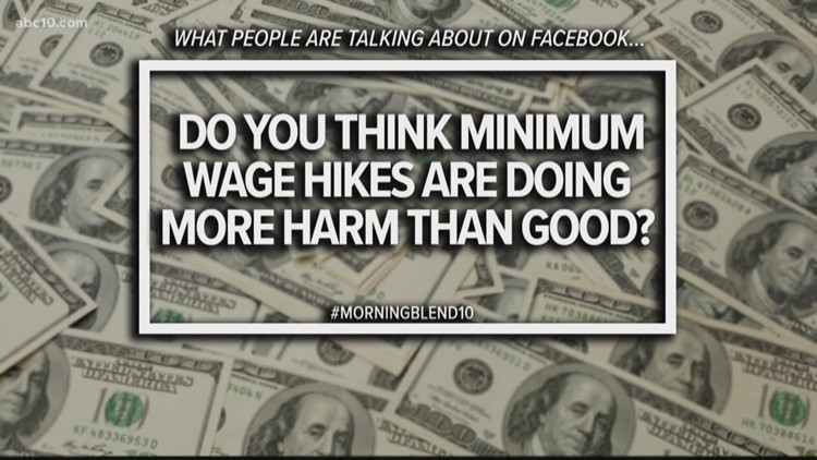 Do you think minimum wage hikes are doing more harm than good?