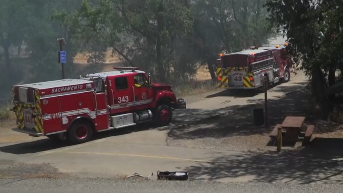 Frequent fires near encampments on the American River Parkway raise alarms