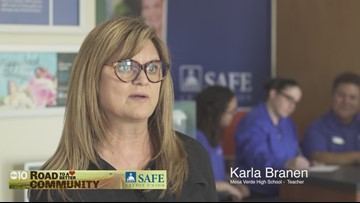 SAFE Credit Union branches on high school campuses