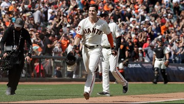Yastrzemski homers in 12th to lift Giants over Mets 3-2