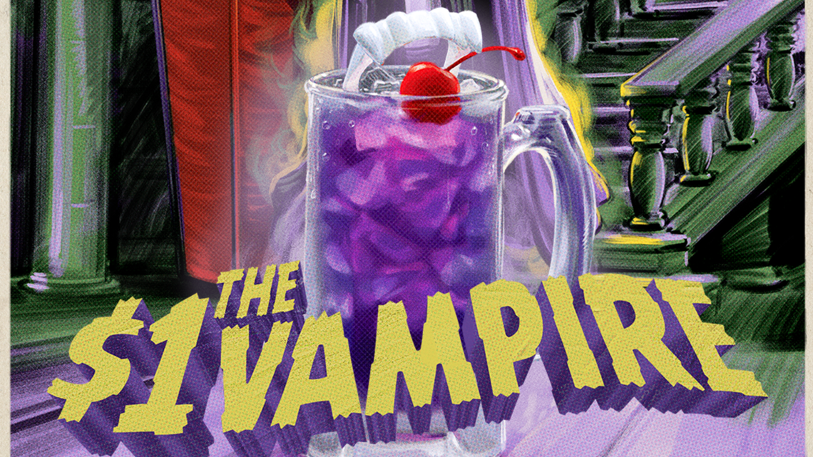 Gas Prices In California >> Applebee's serves chilling $1 vampire drink for Halloween ...