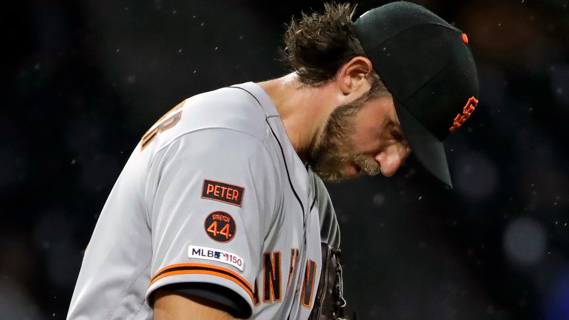 Bumgarner rocked in the opening inning as Pirates top Giants 4-1