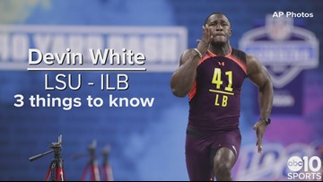 ILB, Devin White – Tampa Bay Buccaneers – No. 5 pick | Need to know
