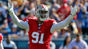 Arik Armstead talks about his new contract to remain with San Francisco 49ers