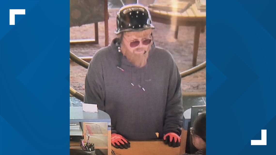 Bank robber hits 3 banks within 2 hours