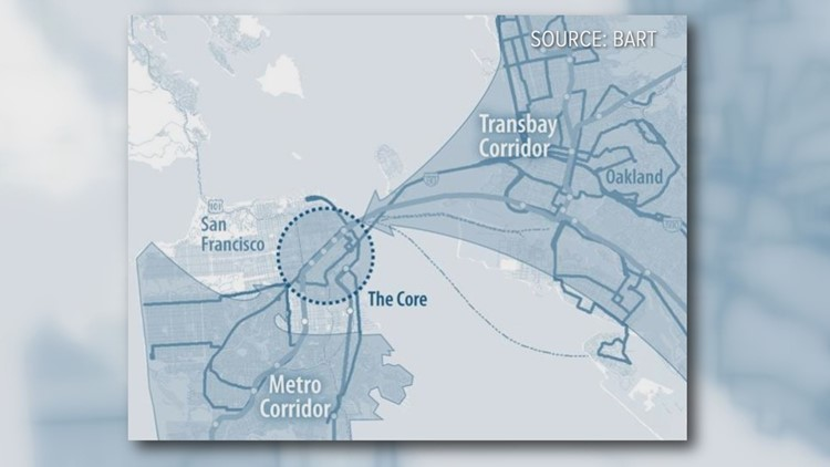 Second transbay rail crossing would connect Sacramento and San Francisco