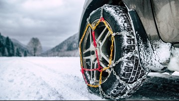 So you're thinking of driving to the snow. Here are 5 things to know about tire chains