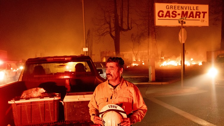 Dixie Fire 'grew explosively,' destroys much of Greenville Wednesday night | Evacuations, maps and updates