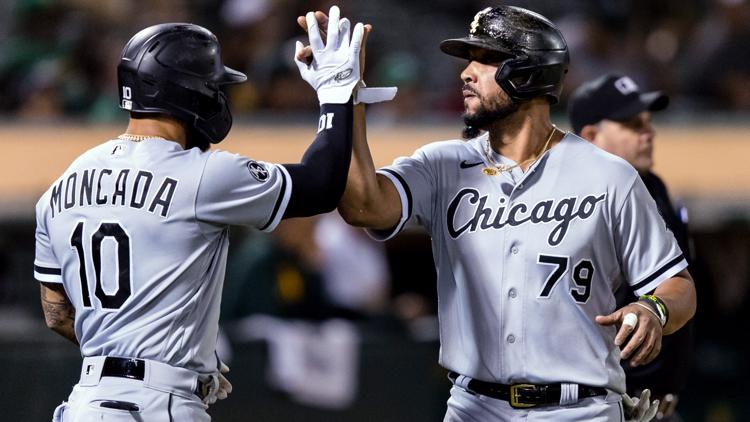 White Sox beat A's 6-3; Oakland drops fourth straight game