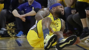 Injured DeMarcus Cousins unlikely to return to Warriors this postseason