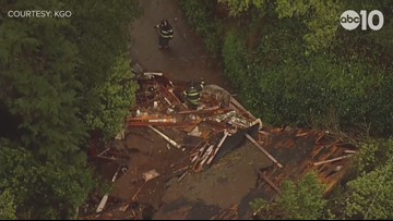 RAW: Mudslide forces evacuations from 50 Sausalito homes