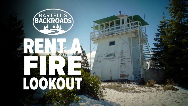 Spend the night in a California fire lookout | Bartell's Backroads