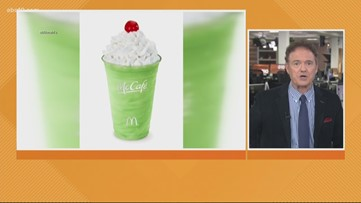 Business Headlines: McDonald's brings back 'Shamrock Shake' for first time in 3 years