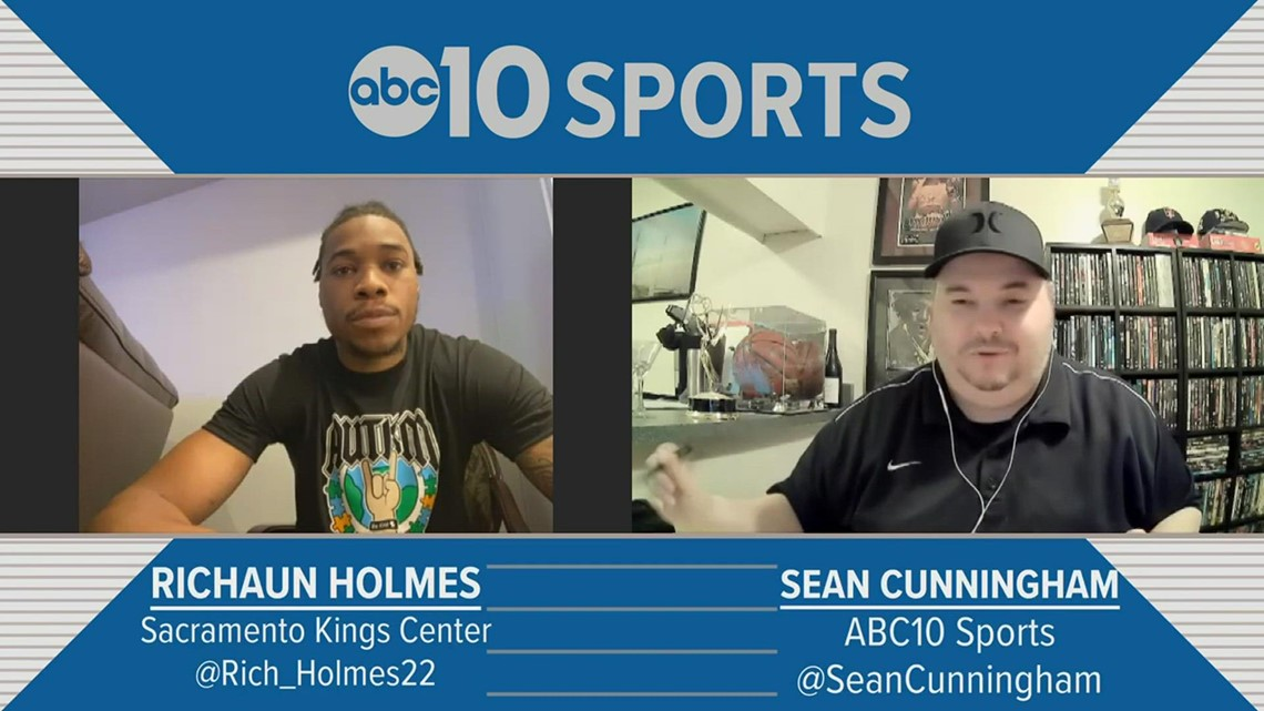 Richaun Holmes on experiencing his best NBA season during a rollercoaster year with Sacramento Kings