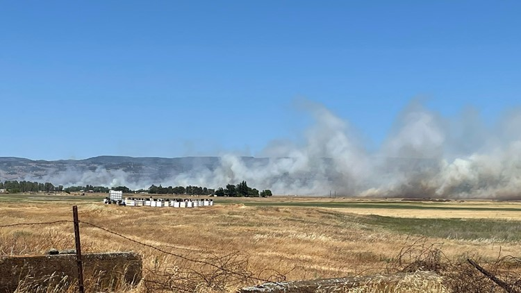 Gunnison Fire grows to roughly 550 acres, 60% contained