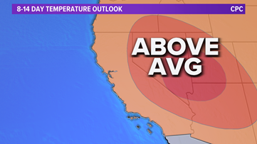 Record-breaking heat possible this weekend