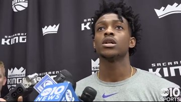 De'Aaron Fox on how Kings will learn, move on from Nets stunner