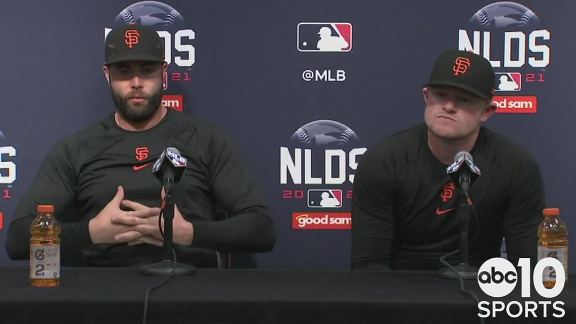 Darin Ruf & Logan Webb discuss the San Francisco Giants' NLDS loss to the LA Dodgers in Game 5