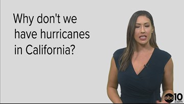 Why doesn't California get hurricanes?