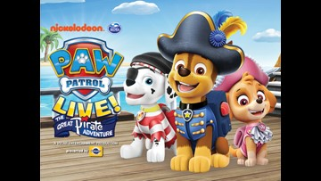 ABC10 2019 PAW PATROL LIVE SWEEPSTAKES