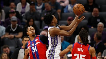 Kings come back from 17 down to beat Pistons 106-100 | Sacramento Kings Scoreboard