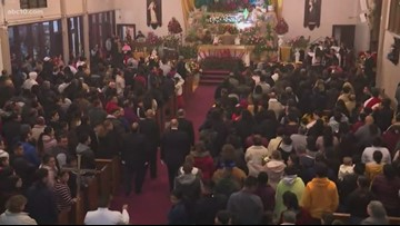 Our Lady of Guadalupe celebration in Sacramento