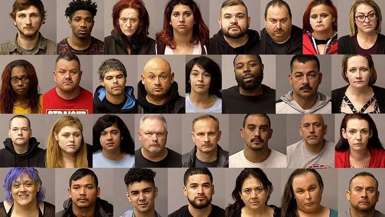 31 arrests Central California