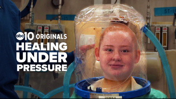 Healing under pressure: Inside a military hyperbaric chamber