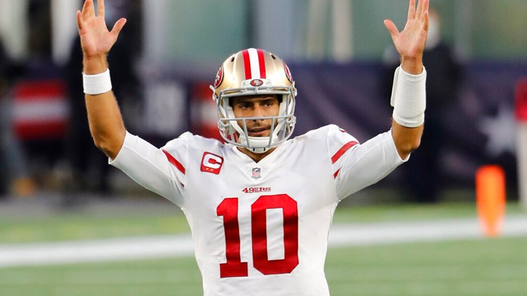 Shanahan says Garoppolo is starting QB as 49ers open camp